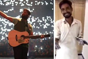 Pakistani house painter crooning Arijit Singh's songs is breaking the Internet