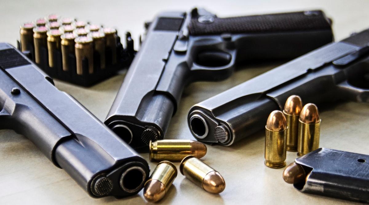 Arms haul Cache Weapon Gun
