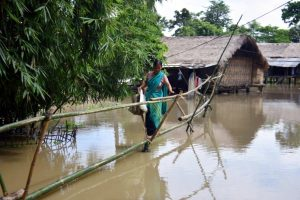 Excess water released from Nagaland dam floods 116 Assam villages