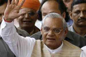 Former PM Vajpayee's ashes to be immersed in rivers of Jharkhand