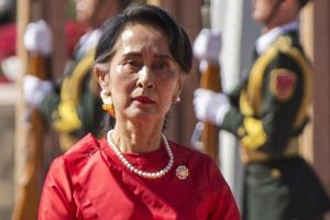 Suu Kyi gets dodgy