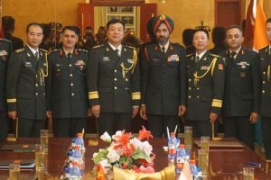 Indian, Chinese army officers meet on PLA Day