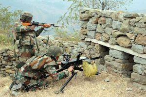 BSF officer injured in sniper fire by Pakistan troops