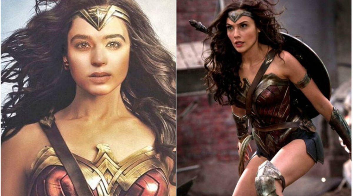 Soundarya Sharma, Gal Gadot, Wonder Woman 1984