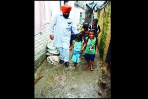 A Santa for slum children