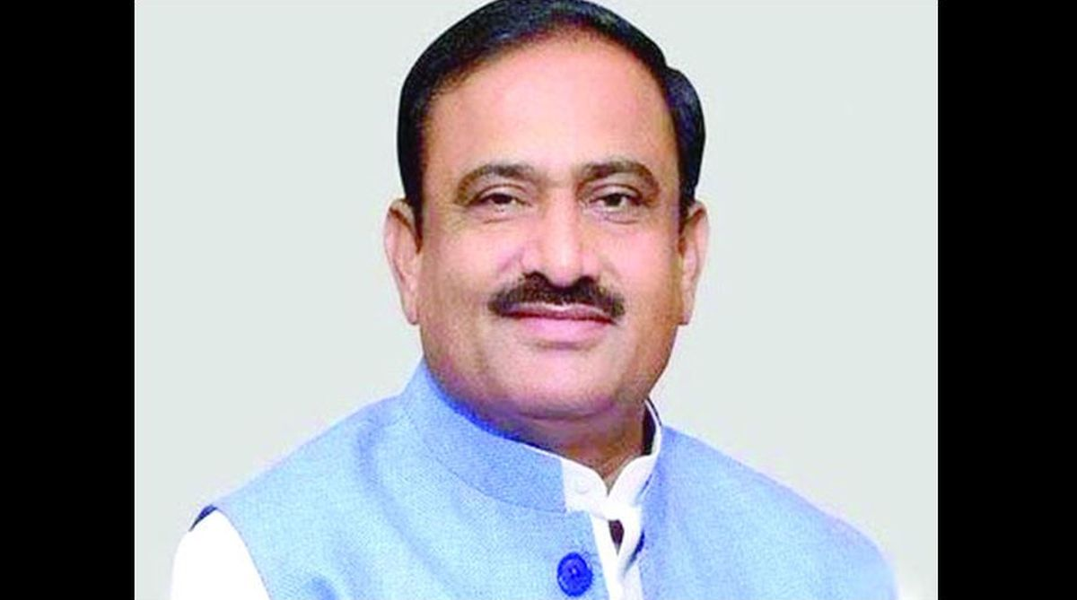 Bhupendra Singh, MP minister for home and transport..