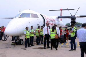 SpiceJet operates India's first biojet fuel flight between Dehradun and Delhi