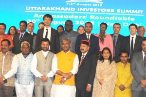 Uttarakhand CM meets foreign diplomats, invites them for investors summit