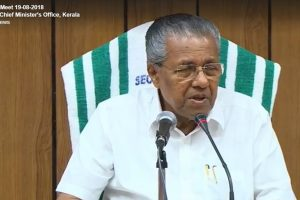 Kerala hopeful of getting UAE aid for flood relief: CM Vijayan
