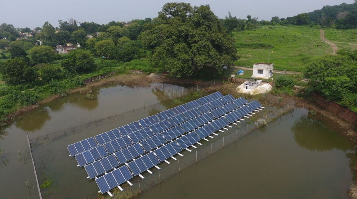 Solar lift irrigation, Kandi, traditional crop cycle, Shivalik foothills,irrigation project,agricultural field