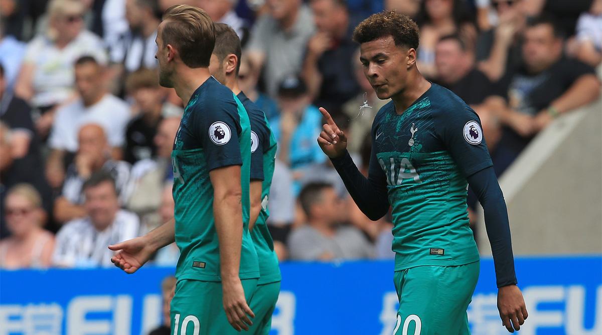 Dele Alli, Mauricio Pochettino, Tottenham Hotspur F.C., Premier League, Tottenham Hotspur Stadium, Dele Alli Celebration, Instagram, Instagram Video