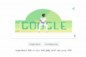 Google Doodle remembers cricket legend Dilip Sardesai on his birthday