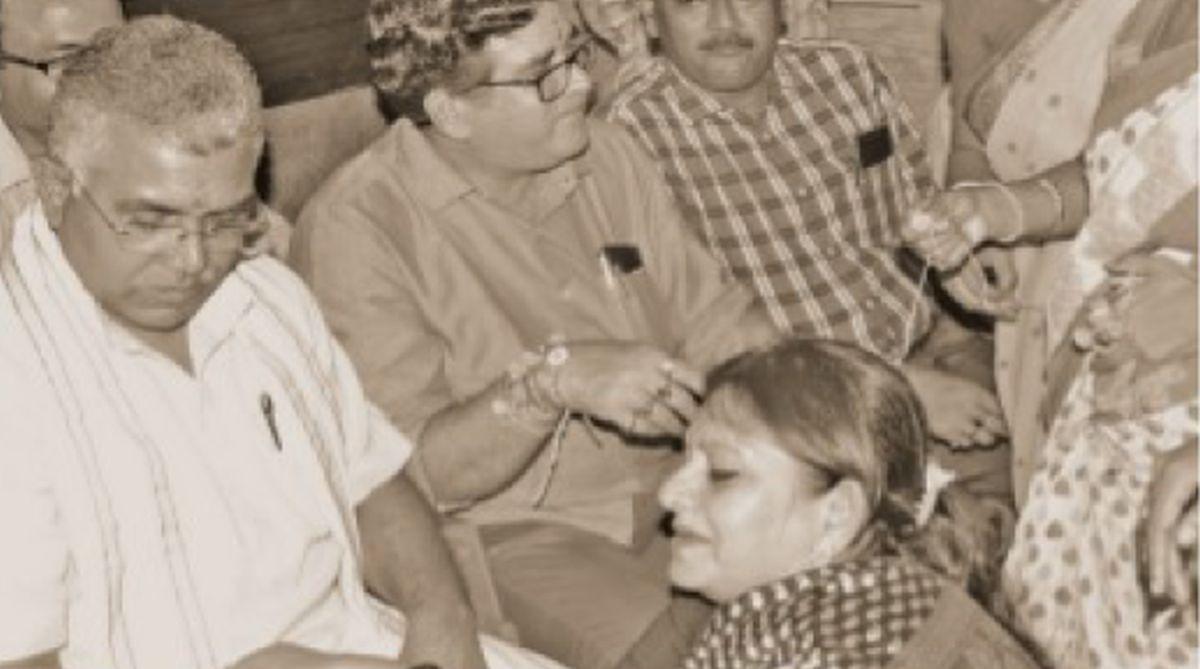 Dilip Ghosh, Rakhi festival, TMC, communal harmony, BJP, Raksha Bandhan,Partha Chatterjee,CPI-M,Serampore women police station