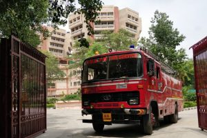 Delhi: Fire breaks out in Doordarshan Bhawan; no casualty