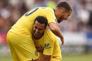 Premier League: Chelsea cruise at Huddersfield to get Maurizio Sarri era underway