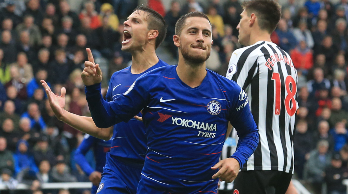 Newcastle United vs Chelsea, Chelsea vs Newcastle United, Premier League, Match Report, Chelsea F.C., Newcastle United F.C., Eden Hazard, St. James's Park, Marcos Alonso