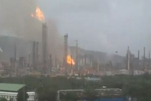 Fire breaks out at Bharat Petroleum refinery in Mumbai
