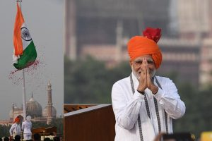PM Modi to hoist tricolour at Red Fort on 75th anniversary of Azad Hind Government