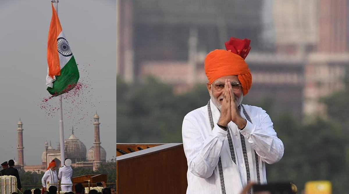 PM Modi's Independence Day speech | Highlights from 90