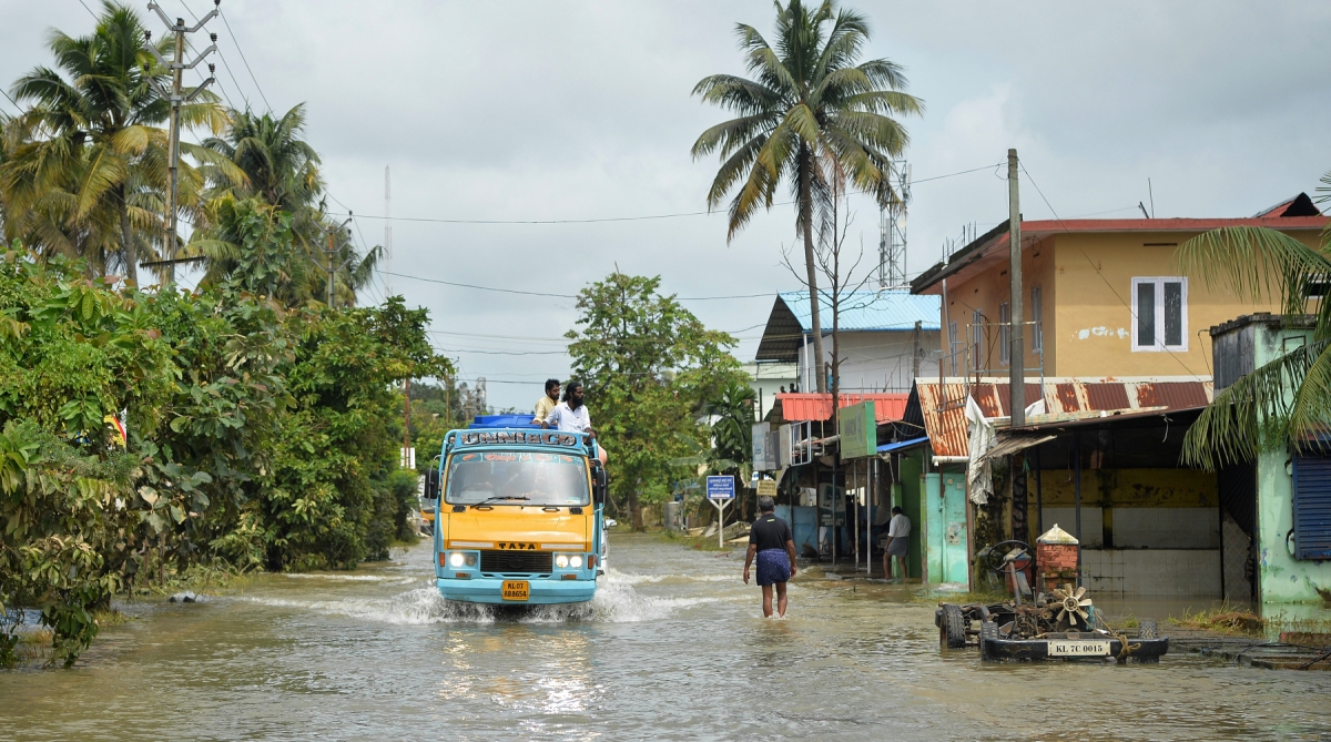 Flooded Kerala