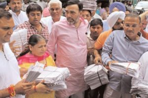 AAP submits 10 lakh letters to PM for Delhi's statehood