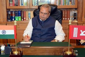 J-K Congress asks Governor Satya Pal Malik to clarify stand on local body elections