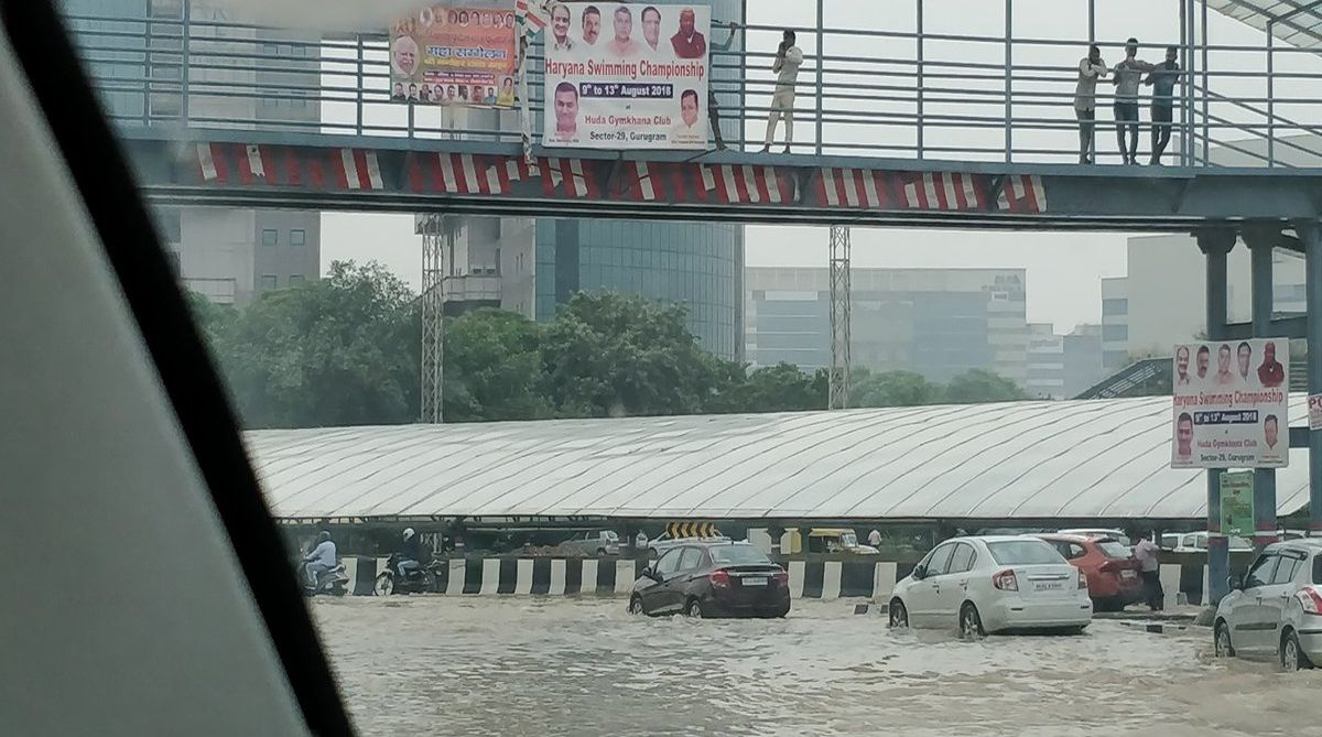 Gurgaon-rains