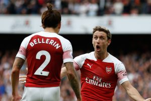 Arsenal come from behind to beat Leicester City 3-1