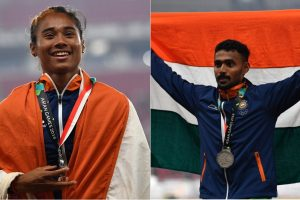 Asian Games: Hima Das, Muhammed Anas bag silver in 400m races