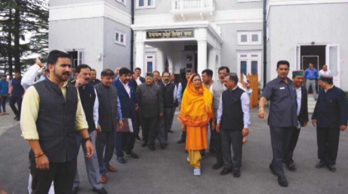Opposition Congress MLAs, Himachal Pradesh (HP)