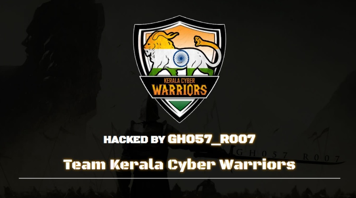 Hindu Mahasabha website hacked