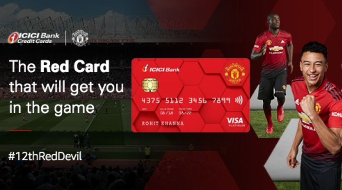 Manchester United F.C., ICICI Bank, ICICI Bank Credit Card, Premier League, Manchester United Credit Card, Facebook, Facebook Video, Manchester United Credit Card Ad, ICIC Bank Manchester United Credit Card, ICICI Bank Manchester United Credit Card Ad