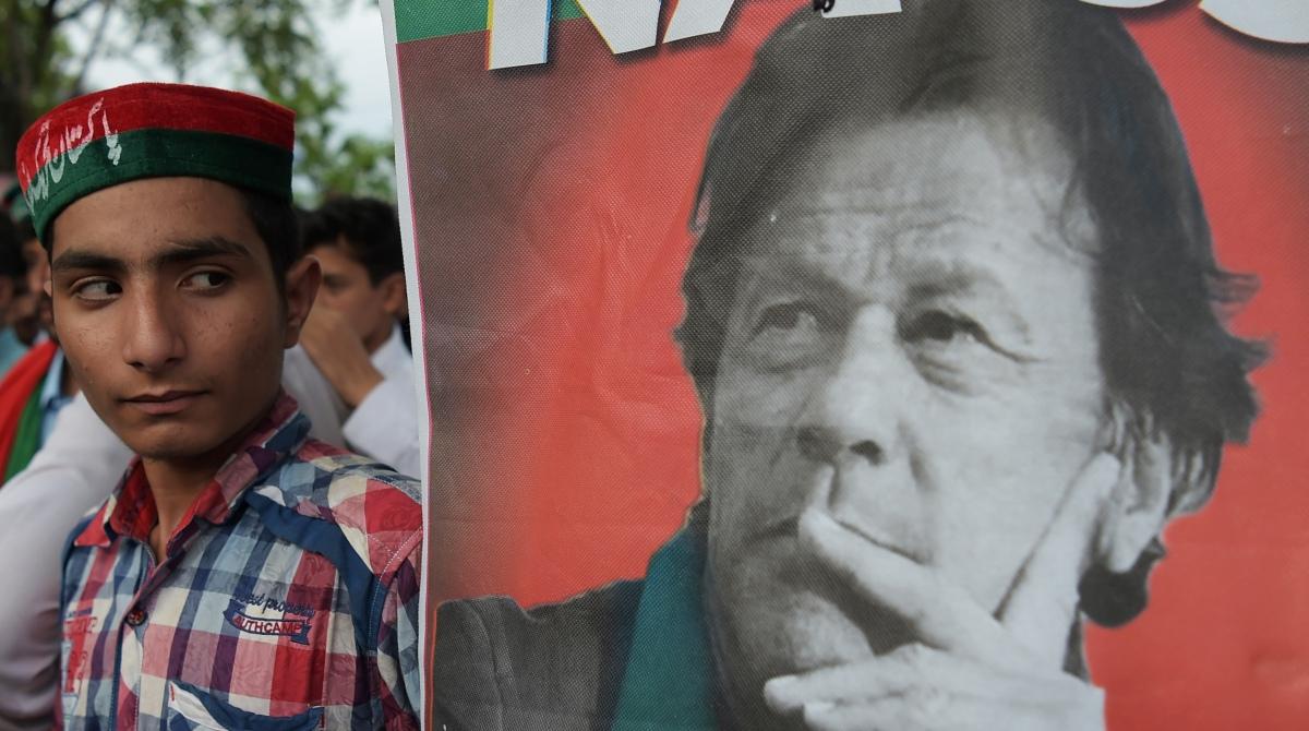 Imran Khan oath
