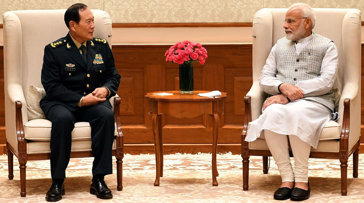 PM Modi, Chinese defence minister, India-China ties, Wuhan Summit, General Wei Fenghe