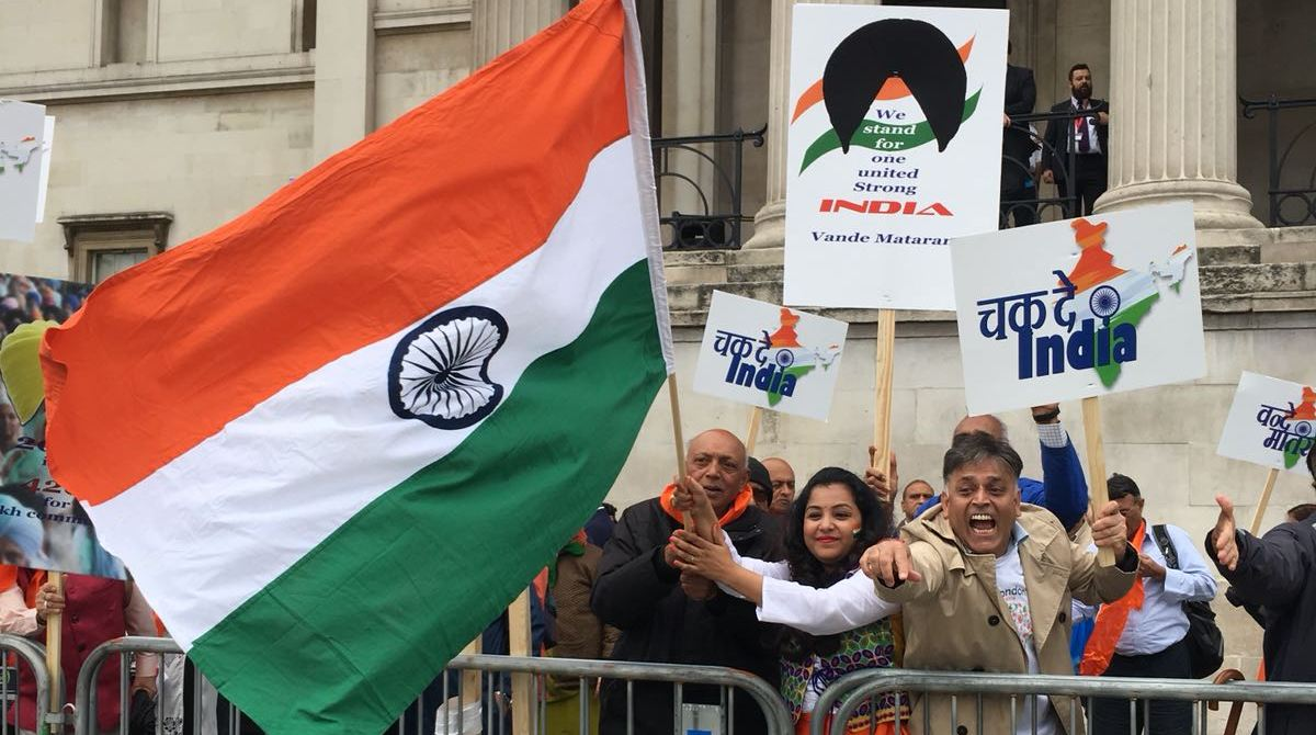 Indian-origin Britons, Pro-Khalistan rally, London, SFJ, BJP