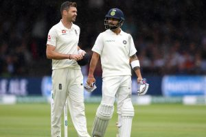 James Anderson: Why can't Virat Kohli edge balls like everyone else