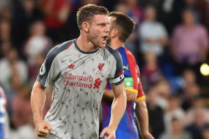James Milner isn't getting carried away with Liverpool topping Premier League table