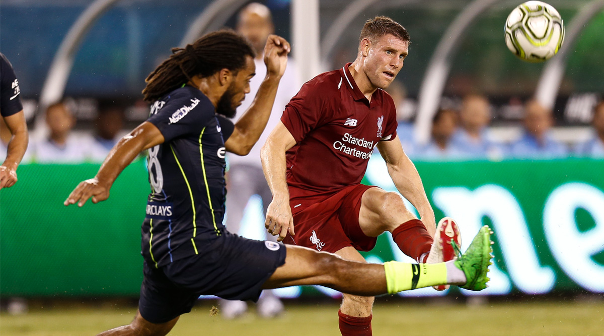 James Milner, Liverpool F.C., Premier League, Twitter, Twitter Video, Andy Robertson, Tea Making, Tea, Perfect Tea, Pre Season