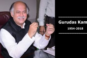 Gurudas Kamat | Lawyer-turned-politician and 5-term Lok Sabha MP