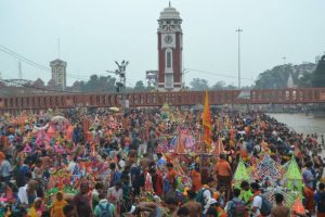 Kanwar Yatra concludes, 3 crore pilgrims visit Uttarakhand