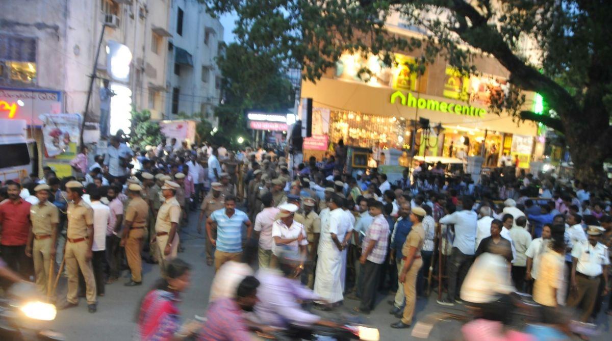 Karunanidhi, Kauvery Hospital