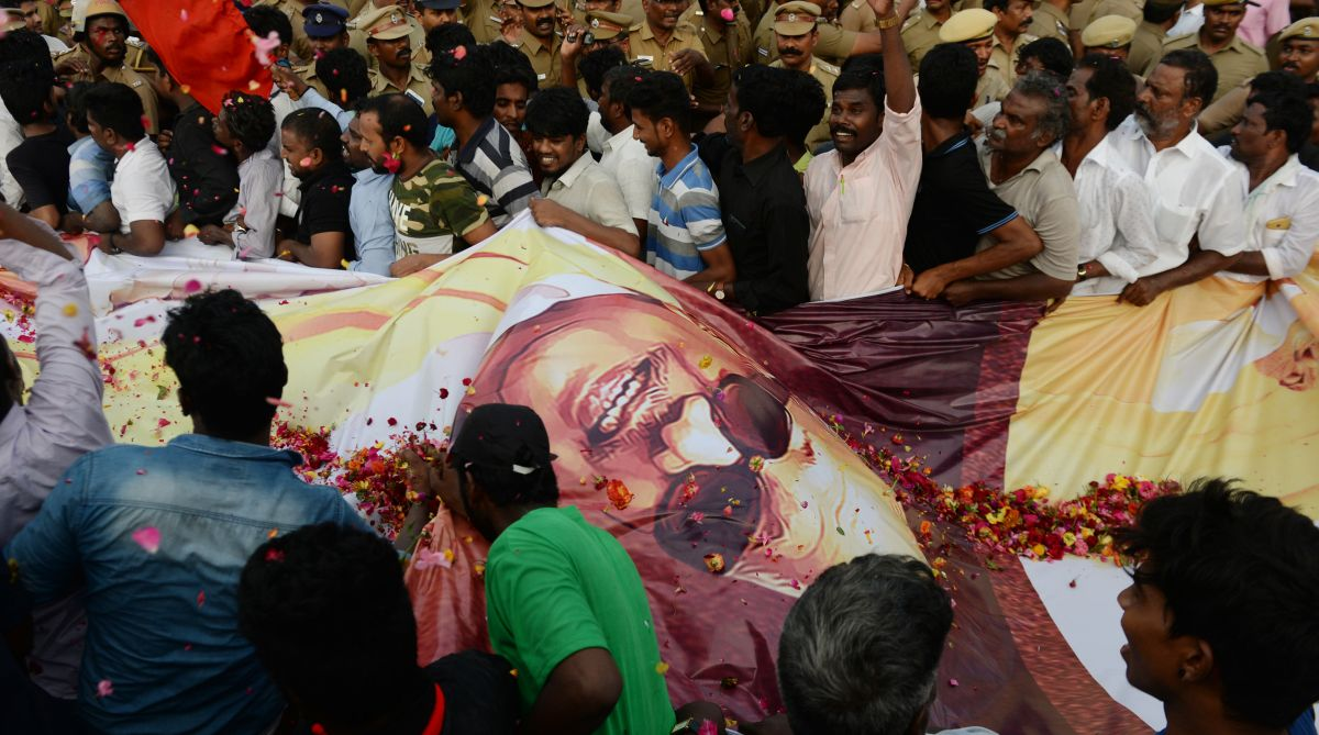 In pics: From PM to commoners, lakhs bid farewell to DMK supremo Karunanidhi