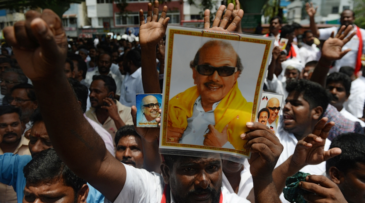 Karunanidhi, Extremely critical, Kauvery Hospital, DMK, Health Update