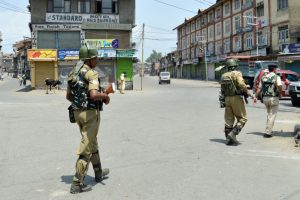 Shutdown in Kashmir over Article 35A rumours