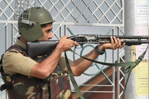 Three soldiers and eight terrorists killed in Kashmir encounters