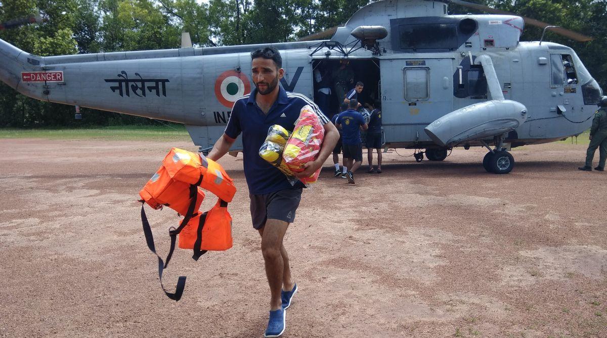 Kerala floods, rescue operation