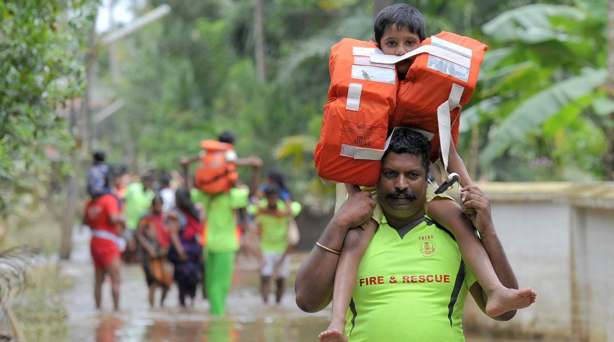 Kerala floods, rescue operation