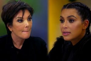 Kim Kardashian practices funeral makeup on Kris Jenner's 'dead body'