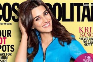 Kriti Sanon defies all odds on the cover of Cosmopolitan