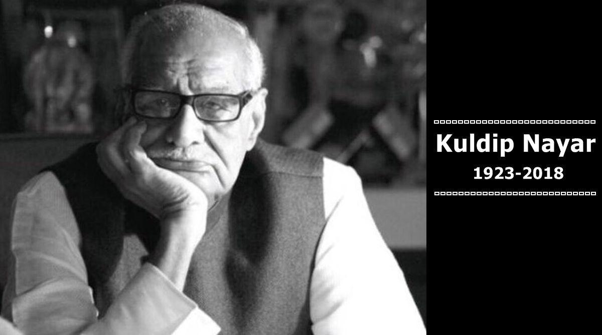Veteran journalist Kuldip Nayar